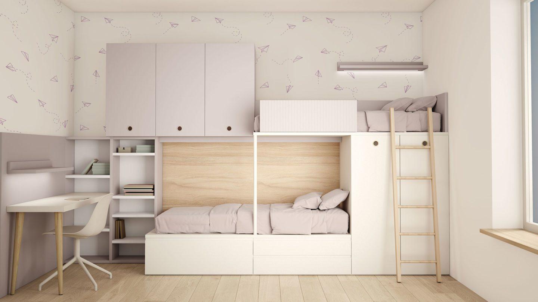 TOBISA Dormitorios juveniles, armarios, vestidores, zonas de estudio y muebles a medida N 16